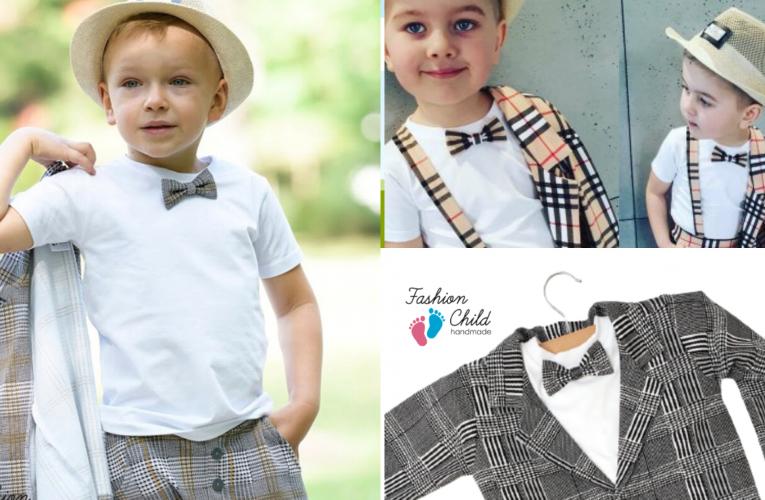 Chłopięce garnitury dla dzieci na wyjątkowe okazje